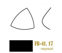 Чашки для бюстгалтеров корсетные FB-41.16(17)/65 черные (10пар)