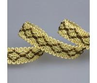 Сутаж отделочный 807-8(HMS) золото (14 м)