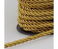 Шнур витой SH032 светло-коричневый (50 м)