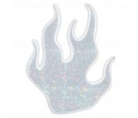 Светоотражающие наклейки пламя 828 Altima (белый)