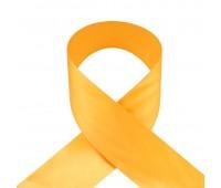 1024UN Лента атласная 50 мм ярко-желтый (33 м)