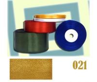 021 Тесьма-вешалка темно-желтый (уп. 10 рул. по 33 м)