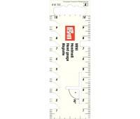 Мини-линейка для разметки и измерения 610731 Prym