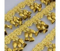 Бахрома для штор AM8073 (BE2063)/622 светлое золото (20 м)