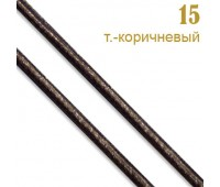 15 т.-кор. Шнур прош.к/з перламутр. L3 мм (34ярд)