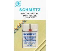 Двойная игла NM80 NE1.6 Schmetz 130/705H ZWI (1 шт)