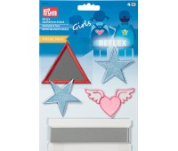 923951 Prym Аппликации и лента Girls, светящиеся и светоотражающие