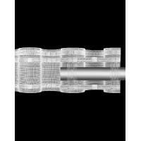 Шторная лента 10 см TZ28/P-200 (14.100.200.3.1) (50 м)