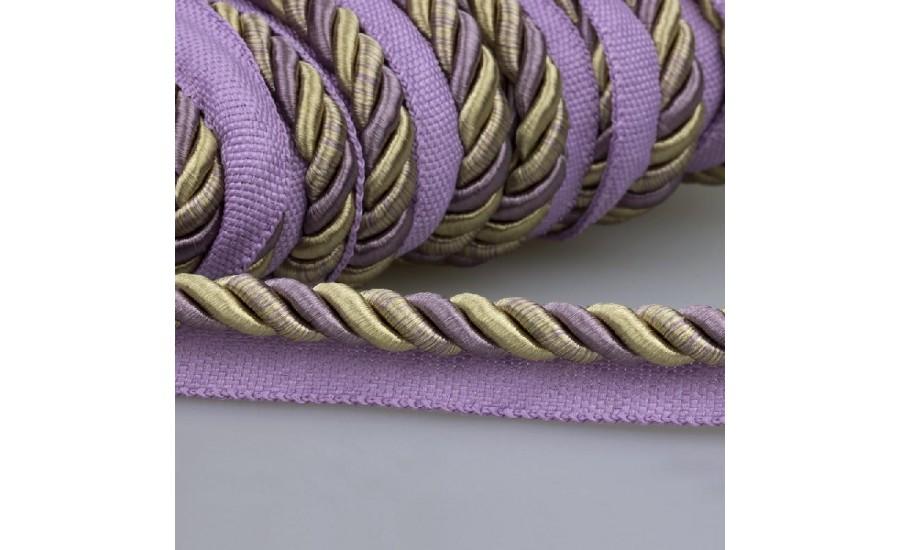 Кант шторный SHK1221-13 фиолетовая пудра (25 м)
