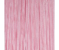 Кисея из нитей A-14 (1) светло-розовый