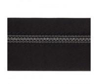 Корсажная лента сложная 10.5 КК черная (уп. 50 м)