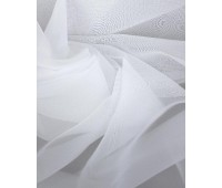 Вуаль для штор белая, высота 280 см (35м± ) HYA60-A01