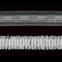 Лента шторная прозрачная MIRTEX 1,5 см 3863 (2022) (100 м)