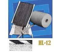 Кант 12-HL белый/черный (50 м)