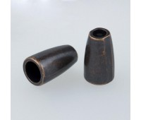 Концевик металлический 1086Y медь (100 шт)
