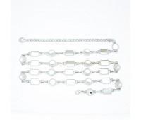 Ремень металлический 641 никель (10 шт)