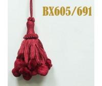 Кисти BX605/691 красный (10 шт)