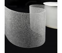Люверсная термоклеевая лента прозрачная 12 см (50 м)