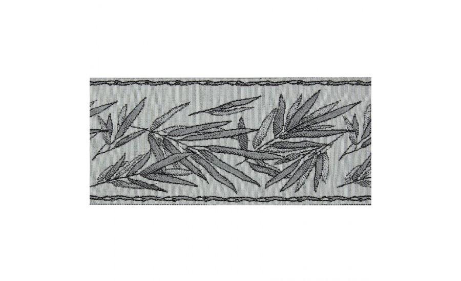 Бордюр для штор TY1909-2 графитовый 9 см/25 м