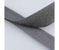 Липучка MIRTEX 25 мм 5257 серый (25 м)