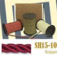 Шнур витой SH15-10 темно-красный (50 м)