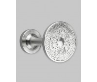 Держатель для штор и подхватов A26-1-3 матовое серебро (2 шт)