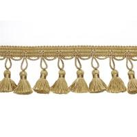 Бахрома для штор 11-BY-B1-6# золото (25 м)