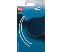 Косточки для бюстгалтера 991809 Prym (E-115), белый, пара