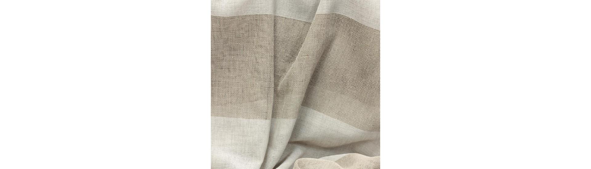 Ткань для штор имитация льна 5752/ZB09 SETKA TUL высота 310 см (~40 м)