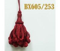 Кисти BX605/253 бордо (10 шт)