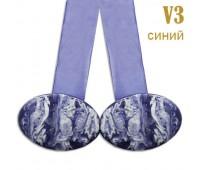 Магниты для штор V3 синие (уп. 2 шт.)