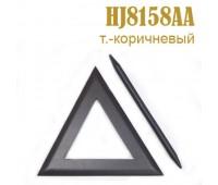 Заколка для штор дерево Треугольник HJ8158AA темно-коричневый (4 шт)