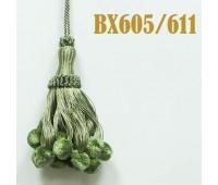 Кисти BX605/611 зеленый (10 шт)