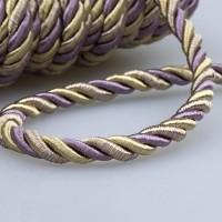 Шнур шторный SH1221-13 фиолетовая/пудра (25 м)