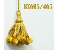 Кисти BX605/465 темное золото (10 шт)