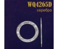 Заколка для штор дерево Круг малый WQ4265D светло-коричневый (4 шт)