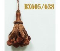 Кисти BX605/638 коричневый (10 шт)