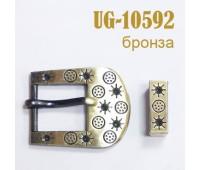 Пряжка (с язычком) 10592-UG бронза