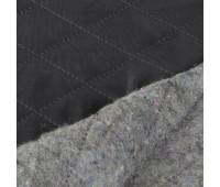 """Термостёжка-ватин """"ромб"""" 1015-015B черный (ватин 200гр./подкл.170Т) 150см/~50м"""