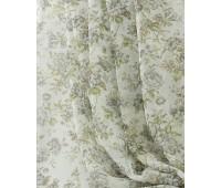 Вуаль печать - ткань для штор, прованс серо-зелёный, высота 280 см (30 м± ) 1HYHD8797-05