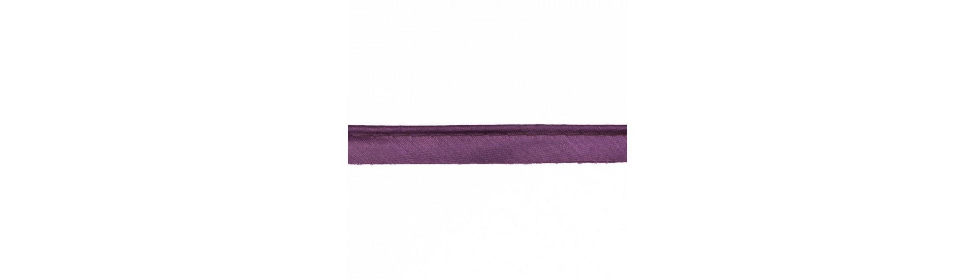 Кант атласный 1037UN темно-фиолетовый (66 м)