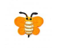 "Аппликация вышитая клеевая ""Пчелка оранжевая"" 953-6 (10 шт)"