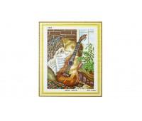 """Набор для изготовления картины - мозаика """"Гитара"""", 2305, 37х46 см"""
