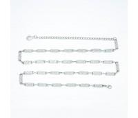 Ремень металлический 099 никель (10 шт)