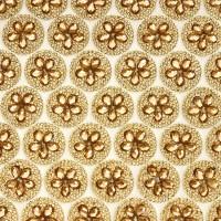 Стразы на листе 24х4см клеевые (круг диаметр 26мм) CF002 золото