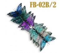 Украшение для штор Бабочка FB-02B/2 (12 шт)