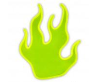 Светоотражающие наклейки пламя 828 Altima (желтый)