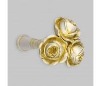 Держатель для подхватов NY2 белый Три розы (2 шт)