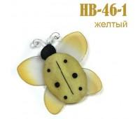 Украшение для штор Жук желтый 1-HB-46 (уп. 2 шт)