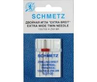 Двойная игла NM100 NE6.0 Schmetz 130/705H ZWI (1 шт)